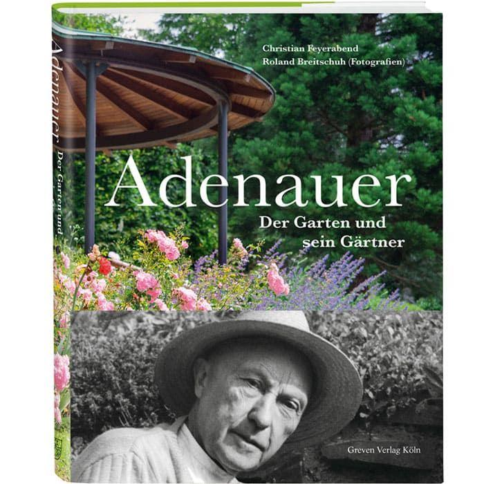 Historischer Bildband Adenauer, der Garten und sein Gärtner