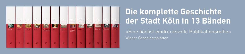 Buchreihe Geschichte der Stadt Köln